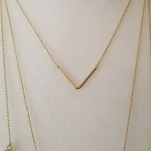Anthropologie Jewelry - Anthropology BAUBLEBAR GoldTone CONE Crystal Spike